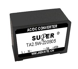 TA2.5W ACDC 模块电源