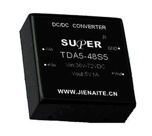 TDA5W DC/DC 模块电源